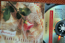 BARBRA STREISAND  **  HIGHLIGHTS FROM:  JUST FOR THE RECORD  **  CD ALBUM