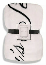 Victoria's Secret Signature Logo Throw Fleece Blanket 50 X 60 NEW