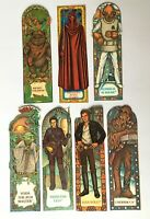 Vintage Star Wars Return of the Jedi Card Bookmarks - Choose Your Own Character