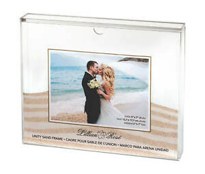 Wedding Unity Sand Ceremony Photo Frame shadow box