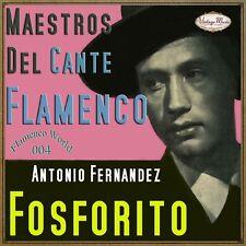 FOSFORITO CD Flamenco World #04/22 Spain Guitar Baile Cante Jondo Cantante Ole