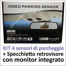 ASSISTENTE 4 SENSORI PARCHEGGIO SPECCHIETTO MONITOR AR per ALFA giulietta