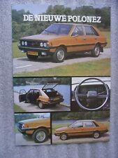 FSO Polonez 1500 Prospekt / Brochure / Depliant, NL