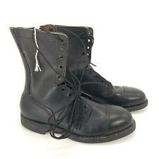 Biltrite Men Steel Toe Military Black Leather ANSI Cap Toe Combat Boot Size 8.5w