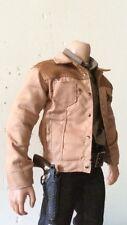 custom 1/6 scale Corduroy Jacket Fit walking dead Rick Grimes hottoys TTM19 body