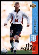 Upper Deck England 1998 - The Squad David Batty # 22