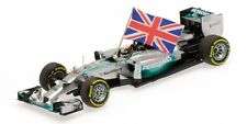Mercedes Amg W05 Hamilton Winner Abu Dhabi Gp w/ Flag World Champion 2014 1:43
