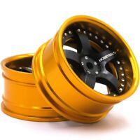 2pcs RC 1/10 Aluminium Alloy Wheels Rims Fit 1:10 Drift On-road touring Car Part
