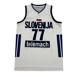 Medium Luka Doncic Slovenia National Basketball Jersey Men