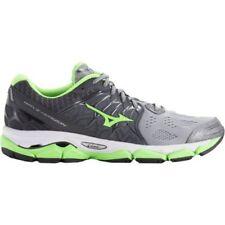 Mizuno Men's Wave Horizon Running Shoes - Grey/Bright Green - Brand New
