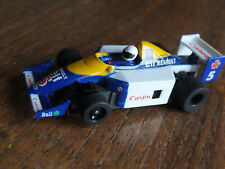 RARE TYCO Williams Labatts Indy F-1 car, Elf, 440X2 chassis cleaned ho afx Tomy