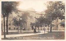 POCATELLO, BANNOCK COUNTY, IDAHO, HIGH SCHOOL, REAL PHOTO PC, used 1921