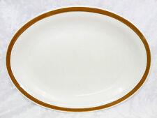 "Bristile / Wembley ware - Platter (11 5/8"")  vgc, brown band pattern - 2 avail."