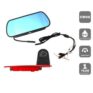 Backup camera FORD Transit custom brake light camera with monitor system