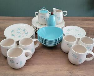 Vernon Ware Heavenly Days dinnerware Mid Century Modern