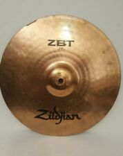 "Zildjian Zbt 14"" / 36 cm Crash Cymbal - Made in Usa - Free Shipping"
