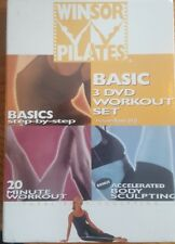 Winsor Pilates Basic 3 Dvd Workout Set Free Shipping Gently Used