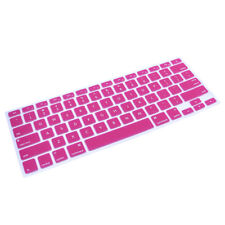 Ultra Thin PINK Soft TPU Keyboard Cover Skin for Macbook  Pro Air 13 15 17 Inch