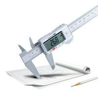 6inch 150mm LCD Digital Electronic Carbon Fiber Vernier Caliper Gauge Micrometer