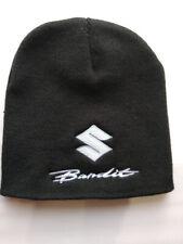Suzuki Bandit Beanie Hat - Black - Fully Embroidered - Bandit Logo