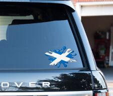 "Scotland Celtic saltaire Splat fun sticker Car 6"" Travel football or bumper"