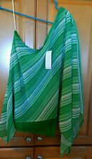Sweet Pea for NY and Company Holly One-Shoulder Top NEW  XS Green