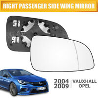 For VAUXHALL (OPEL) ASTRA 05-09 Rearview Mirror Right Door Wing Mirror Glass AU