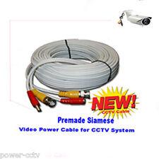 30 feet Premade CCTV Siamese Security Camera Video / Power BNC Cable