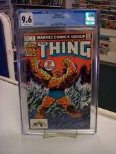 THING #1 (Marvel Comics, 1983) CGC Graded 9.6! ~John Byrne ~WHITE Pages