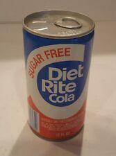 Diet Rite Cola Can Vintage Air Filled