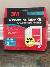NEW 3M Indoor Window Insulator Kit for 5 Windows 3' x 5' (5.16'x17.5') - NEW