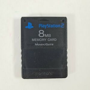 Official Sony PlayStation 2 Two PS2 Memory Card 8GB SCPH-10020  Free uk P&P