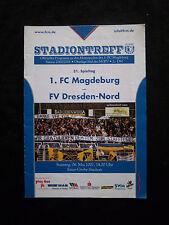 Orig.PRG   Oberliga Süd  2000/01  1.FC MAGDEBURG - FV DRESDEN NORD  !!