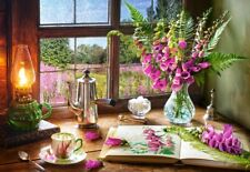 Puzzle Castorland 1000 Teile - Still Life with Violet Snapdragons (78993)