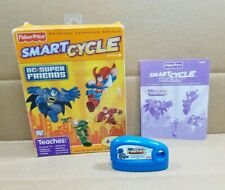Fisher Price Smart Cycle DC Super Friends Learning Game Cartridge 2010 Mattel