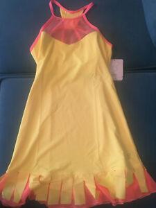 Sofibella CARWASH Dress (1696) Yellow With Sorbet Mesh & Sorbet Trim