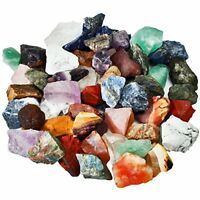 Natural Raw Stones Rough Rock Crystals Energy for Tumbling Cabbing Assorted 1 Lb