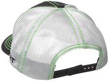 Ariat Western Mens Hat Baseball Cap Mesh Pinstripe Logo One Size Green  1594001 c3bb71d527ed