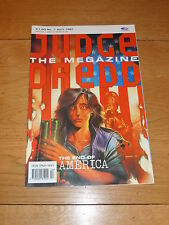 JUDGE DREDD THE MEGAZINE Comic - Series 1 - No 7 - Date 04/1991 - UK Comic