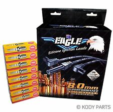 EAGLE IGNITION LEADS & PLUGS - Ford LTD FC FD 351 5.8L 302 4.9 Cleveland E8801SP