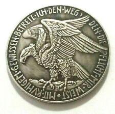 MEDAL 1914 - GERMANY - GERMAN EMPIRE - SOUVENIR MEDAL MADE OF SILVERED METAL
