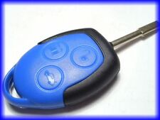 GENUINE OEM FORD BLUE 3 BUTTON REMOTE KEY FOB, for MK7 TRANSIT 4.2006>12.2014