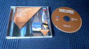 CD Organ SAINT-SAENS No.3 & PIANO No.2 Charles Dutoit DECCA Peter Hurford Rogé