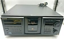 Sony CDP-M555ES 400 Disc CD Compact Disc Changer With. No Remote