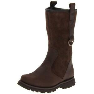 TIMBERLAND  Earthkeepers Asphalt Trail Toddlers Little Kid Brown Suede Boots 4.5