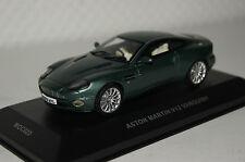 Aston Martin V12 Vanquish grün metallic 1:43 Ixo neu & OVP MOC022