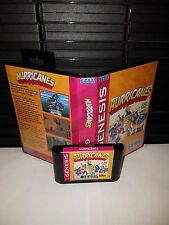 Hurricanes Platform Cartoon Game for Sega Genesis! Cart & Box