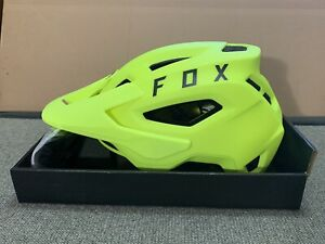 Fox Racing Speedframe MIPS Downhill MTB Bicycle Helmet Flo Yellow (Large)