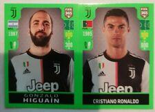 PANINI FIFA 365 2020 - Gonzalo Higuain / Cristiano Ronaldo ROOKIE Sticker