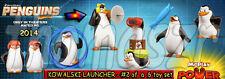 KOWALSKI LAUNCHER toy #2 Penguins of Madagascar Movie McD/Dreamworks (2014) NIOP